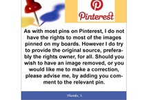Disclosure ~ Pinterest / by Sheri Johannsen