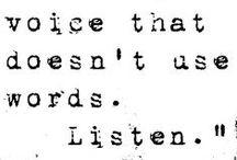 Words / by Keri-Ann Paterson