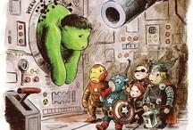 Super Heroes And Vigilante Sidekicks / by jukilajn