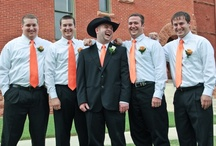 Groom and groomsmen / by Warren and Jackie Wedding Photography Brown's Photography