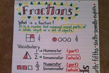 Fractions / by Melissa Lopez