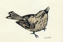 Lino Prints / Inspiration for Lino printing. A collection of fabulous lino prints by amazing artists. Great for inspiring you to create some amazing prints of your own.
