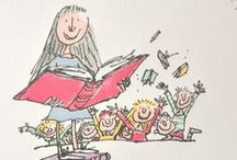 Roald Dahl / Quentin Blake / All things Roald Dahl and Quentin Blake. I love this author and illustrator so much - perfect for kids or adults who have a fondness for this incredible duo!