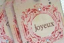 | Christmas Notes | / Tags . Cards . Décor . Signs . Gifting / by Sheri Johannsen