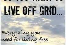 Off grid living / Everything to do with living off the grid