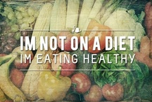 Its no longer about skinny.Its about being healthy. / stop being on diet,be HEALTHY instead