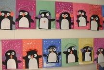 Decoración para el aula: invierno.
