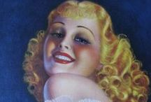 Vintage faces 2 / by Sally Berry