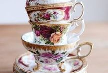J D Cups & Saucers / Pin only tea cups and saucers no lone tea pots , I have a board for tea pots, no invites or spam