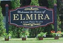 Elmira, New York my hometown  / by Joyce Grover-Ellis