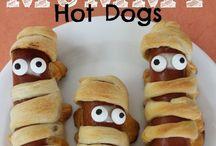 Scary scrums ... Ooohhhh / Halloween food ideas