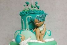 My sweet creations / cake design, bakes, sweets, sugar art made in the middle of the night