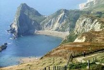 Dorset, UK / The Southern coastal county of Dorset boasts a wide range of spectacular scenery, historical sites and market towns. Major attractions include it's Jurassic coast, Corfe Castle, Durdle Door, Lulworth Cove and Badbury Rings.