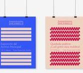 Poster design / Diseño gráfico de carteles e inspiración.