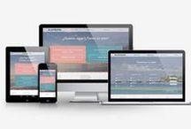 Web design / Diseño web, maquetación e inspiración digital.