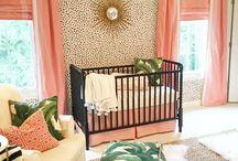 Coral Pop Nursery Ideas