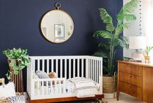 Navy Blue Nursery Ideas
