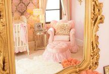 Gold Accent Nursery Ideas