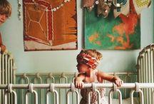Boho Girls Nursery Ideas