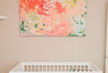 Peach Pop Nursery Ideas