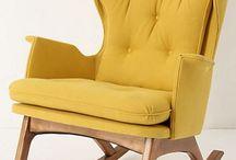 Chair & Glider & Feeding - Nursery