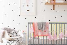 Modern Girls Nursery Ideas