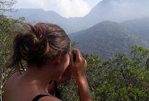Trekking au Corcovado / 29/05/2017 Journée de randonnée dans la forêt de Tijuca, Trekking jusqu'au Corcvado, avec un groupe de 4 jeunes.