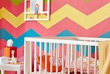 BRIGHT Nursery Ideas