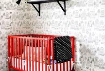 Red Pop Nursery Ideas