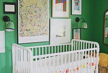 Green Pop Nursery Ideas