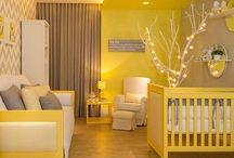 Yellow Nursery Ideas