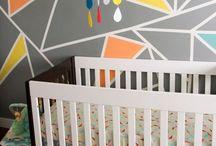 Geometric Shapes Nursery Ideas