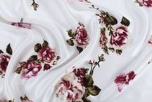 ❤ Fabrics ❤ / I like to photograph cakes that I bake, so these fabrics would be great as background! :)