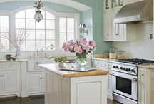 Kitchen Styles for the Modern Country Home / Ideas for the heart of the home.