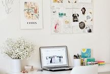Beautiful Workspaces and Home Office's / Images of my creative space and makes from my craft room, along with storage ideas and tips.