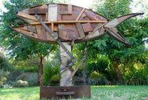scrap metal art creations / Scrap metal art garden creations from www.scrapmetalart.com.au