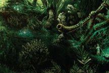Mitágó-erdő / Információk, inspirációk Robert Holdstock Mitágó-erdő című regényéhez