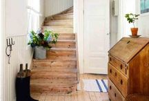 Modern Country Hallways, Staircases and Landings