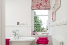 Light and Bright Bathrooms / Bathroom inspiration with a focus on light, bright and airy