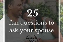Marriage Blog Posts / Some of our most popular blog posts that are must reads for your marriage. Everyone could use new marriage advice!