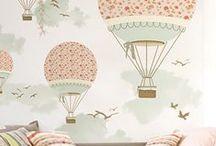Wallpaper / Tapety w pokojach dziecięcych