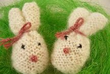 Crochet easter ornaments