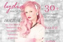 LYDIA MAGAZINE (Issue 2, Winter 2014/2015) / Features, interviews and more from our 2nd issue!