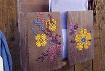 Cross stitch craft ideas and organization
