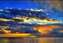 Levers et couchers de soleil / le soleil sous toutes ses couleurs