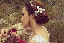 Editoriais Aflorar / Acessórios para noivas, tiaras de noiva, arranjos, grinaldas.
