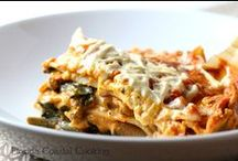 Lasagna. / 'Coz I'm a lasagna freak.