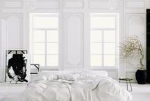 White decor and architecture / by Fino Lino