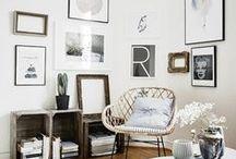 Home design / Beautiful interior and furniture