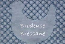 Boutique de la Brodeuse Bressane / Grilles de broderie de Brodeuse Bressane